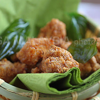 Salt and Pepper Chicken Recipe (盐酥鸡).