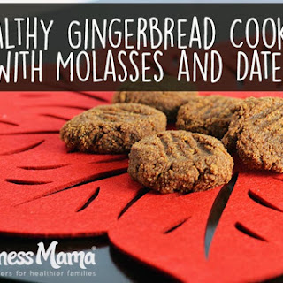 Gingerbread Cookies Recipe With Dates & Molasses