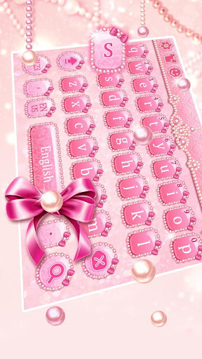 pink pearl keyboard screenshot 2