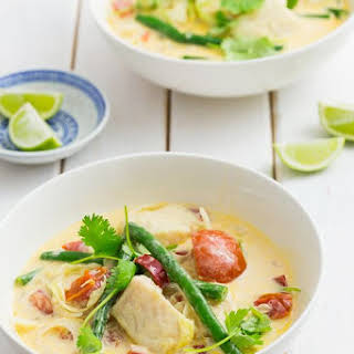 Fish in Coconut Soup.
