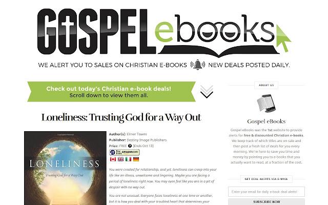 Gospel ebooks chrome web store we alert you to sales on christian e books fandeluxe Images