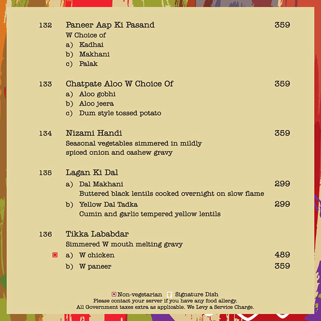Citrus Cafe - Lemon Tree Hotel menu 5