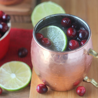 Cranberry Moscow Mules.