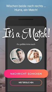 Tinder – Miniaturansicht des Screenshots