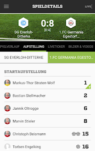 FUSSBALL.DE screenshot 6