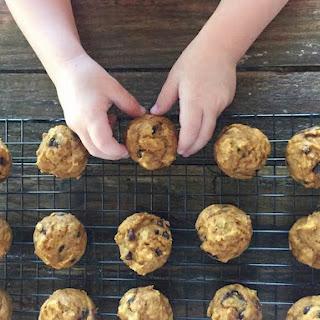 Pumpkin Chocolate Chip Mini Muffins.