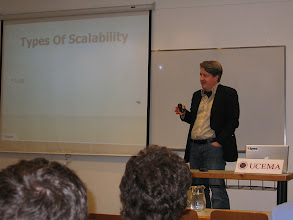 Photo: Jason's talk was my favorite: insightful and humorous. He knows what he's talking about and is fun to listen to