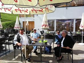 Photo: Unsere Gäste und Gönner   (vorne) Sigi und Susi Stampfli,   hinten  Ernst Bürgin und Rosmarie Haas