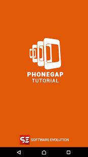 PhoneGap Tutorial - náhled