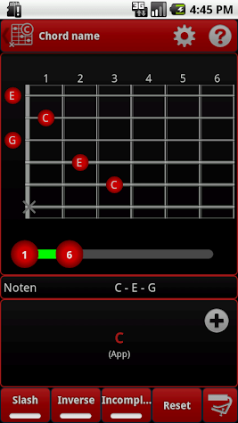 s.mart PLUS Chords Screenshot