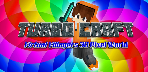 Epic Turbo Craft: Virtual Villagers 3D Pixel World APK