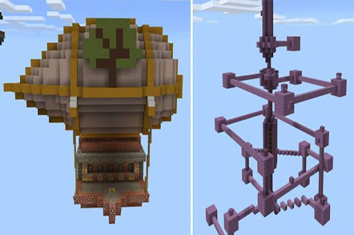 Sky Adventure map for MCPE for PC