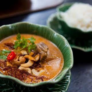 Thai Massaman Chicken Curry.