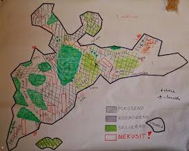 Photo: Mapa rezervace
