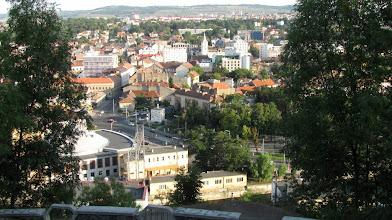 "Photo: Strada Emil Isac,  Opera Maghiara de Stat,  Monumentul Rezistentei Anticomuniste, Primaria Municipiului Parcul Central ""Simion Barnutiu"" (2012.08.21)"