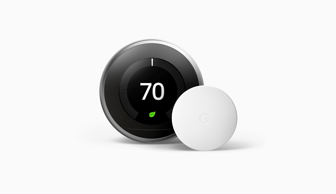 Google Nest Learning Programmable Wi-Fi Thermostat with Temperature Sensor (3rd Gen)