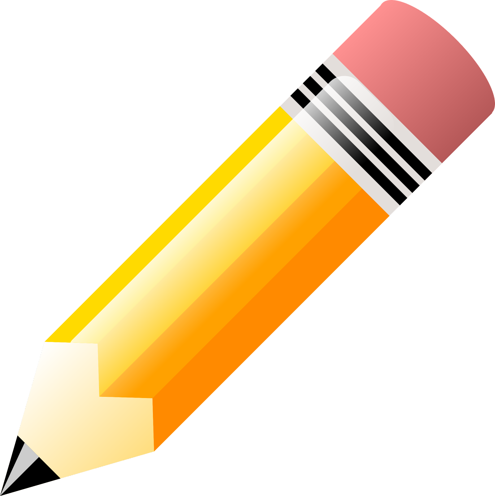 The Big Pencil Vector Art. ...