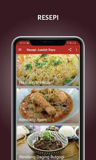 Resepi Juadah Raya screenshot 5