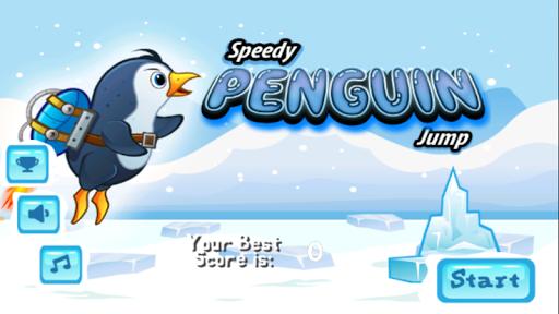 Speedy Penguin Jump
