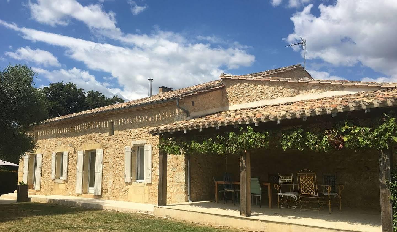 Maison avec piscine et jardin Saint-Emilion