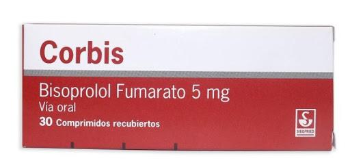 Bisoprolol Corbis 5Mg 30Comprimidos Siegfried