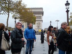 Photo: Paris Arc de Triomphe és Dariussza * Budapest-paris aerplane * Hungarian Sibyls in Paris, remembering mlle Lenormand, esoteric Tour * www.lenormand.hu
