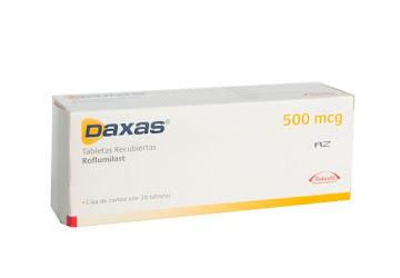 Daxas 500Mcg Tabletas   Caja X30Tab. Takeda Roflimilast