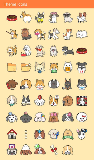 Cute Wallpaper I Love DOGS Theme 1.0.0 Windows u7528 4