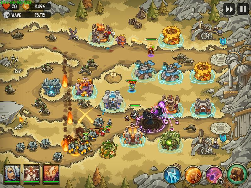 Empire Warriors Premium: Tactical TD Game Screenshot 14