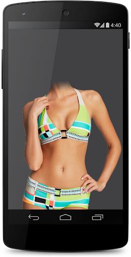 Woman Bikini Suit Photo