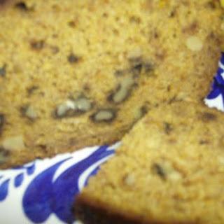 Gluten, Dairy Free Pumpkin Bread