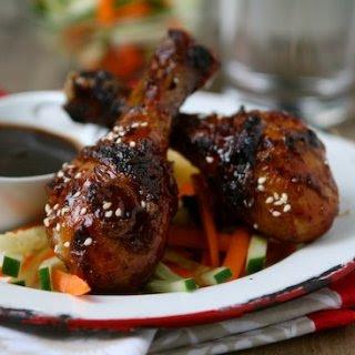 Sticky Asian BBQ Chicken Drumsticks