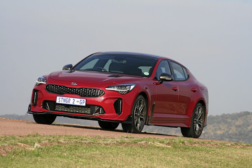 A Kia as you've never known it: a sports sedan packing 272kW of power. Picture: DENIS DROPPA