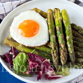 Roasted asparagus – Easter brunch.