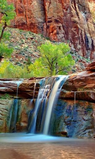 waterfall live wallpaper : 7fon & lwp screenshot 2