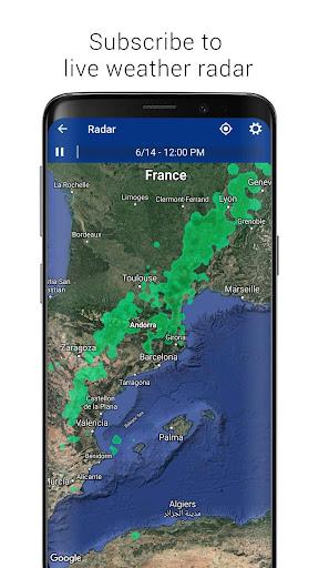 Transparent clock weather (Ad-free) screenshots 8