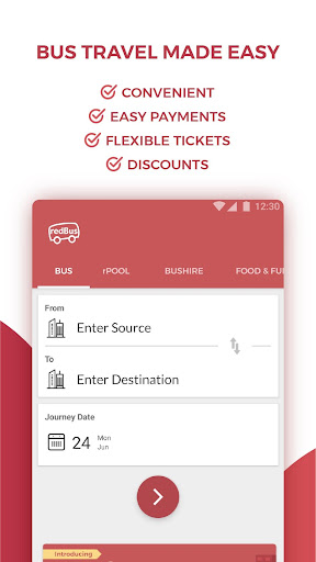 redBus - Online Bus Ticket Booking screenshot 1