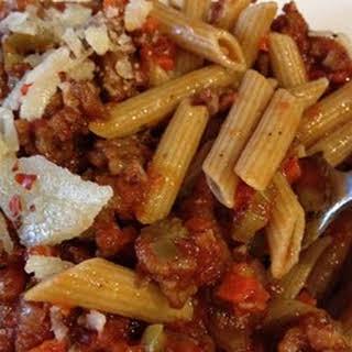 Mom's Spaghetti Bolognese.