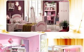 Girls bedroom design - screenshot thumbnail 03