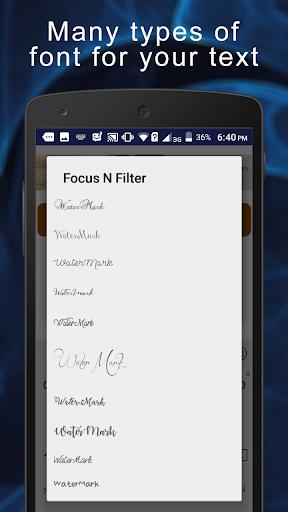 Focus N Filter screenshot 6