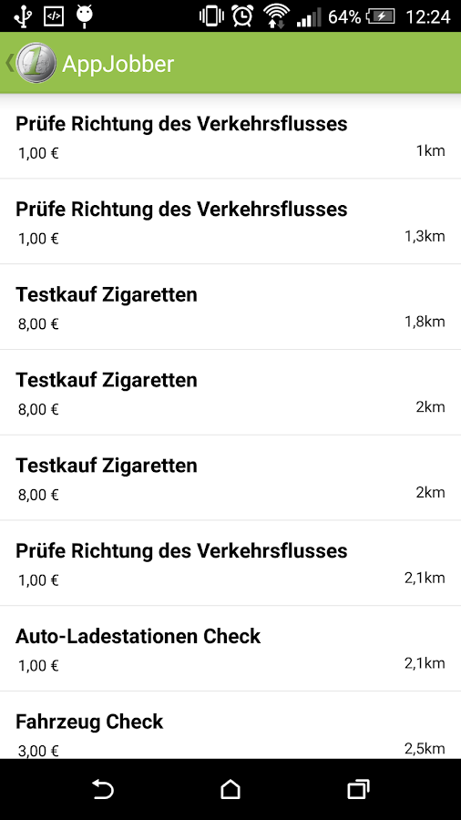 AppJobber- screenshot