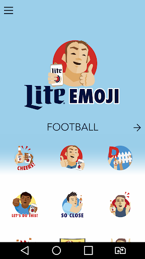 Football Stickers by Lite Screenshot