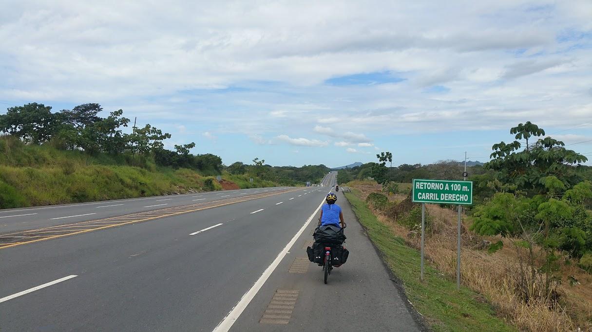 A lo largo de la Panamericana