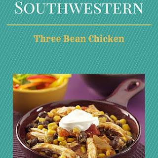 Crock Pot Southwestern 3-Bean Chicken.