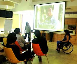Photo: Ritika and Sunita at L'Oreal HR India Workshop, Mumbai