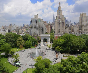 Attractions in Gramercy Park. New York
