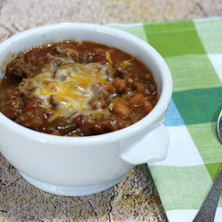 Easy Beef and Beans With Cheese.