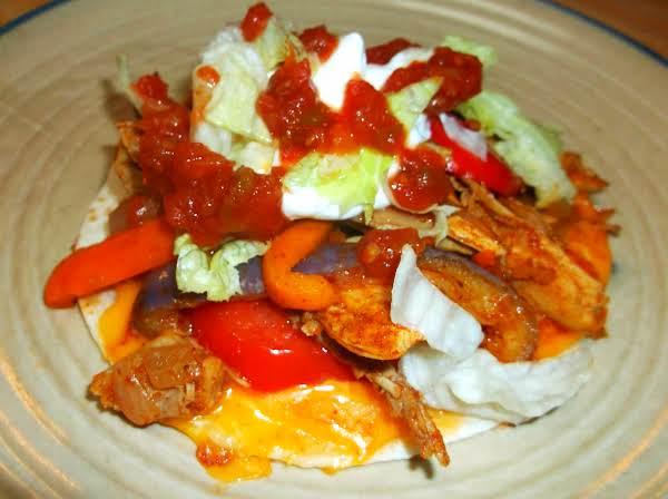 Easy Leftover Turkey Mini-fajitas Recipe