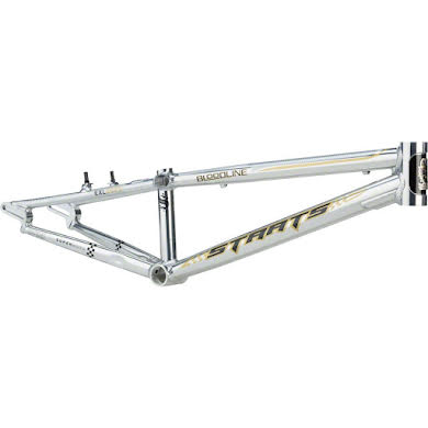 """Staats Bloodline SuperMoto30 Junior Frame 18.5"""" Top Tube Silver Arrow Polished"""