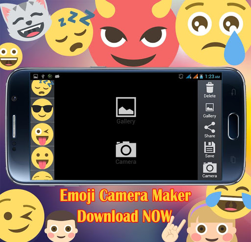 Emoji Camera Face For Pictures